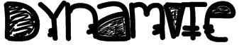 Dynamite Font
