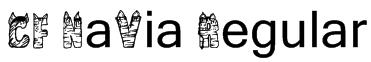 CF NaVia Regular Font
