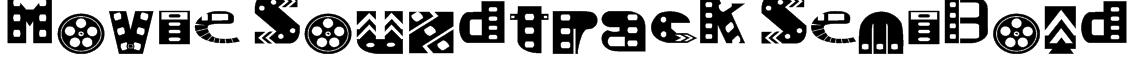 Movie SoundtracK SemiBold Font
