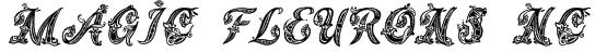 Magic Fleurons NC Font