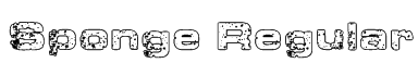 Sponge Regular Font