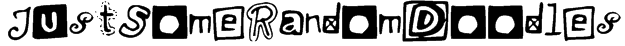 JustSomeRandomDoodles Font