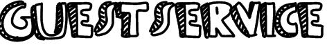 Guestservice Font