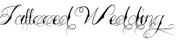 Tattooed Wedding Font