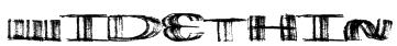 WideThin Font