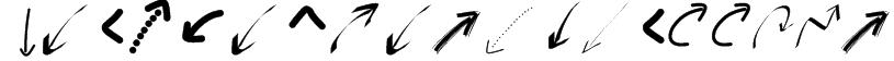 PeaxWebdesignarrows Font