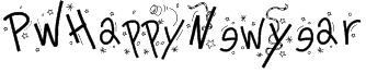 PWHappyNewYear Font