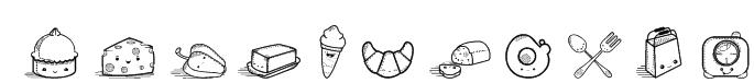 Kawaii Food II Font