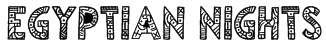Egyptian Nights Font