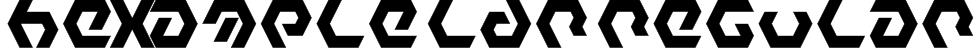 Hexample LDR Regular Font