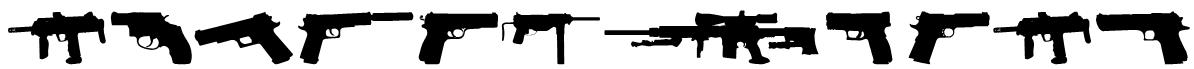 Fireguns tfb Font