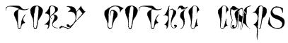Tory Gothic Caps Font