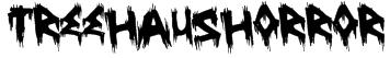 TreehausHorror Font