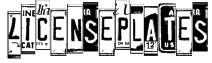LicensePlates Font