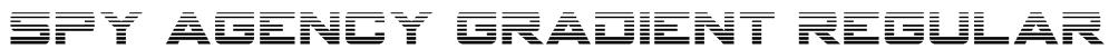 Spy Agency Gradient Regular Font