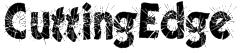 CuttingEdge Font