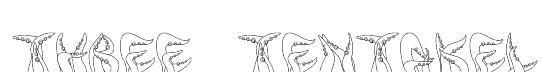 three_tentakel Font