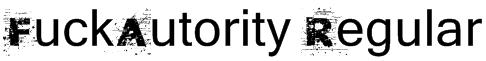 FuckAutority Regular Font