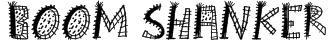 Boom Shanker Font