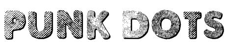 Punk Dots Font