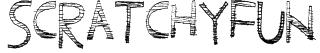 ScratchyFun Font