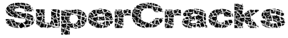SuperCracks Font