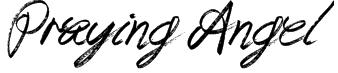 Praying Angel Font