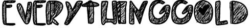 EverythingGold Font