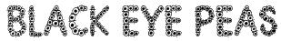 Black Eye Peas Font