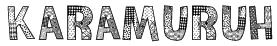Karamuruh Font
