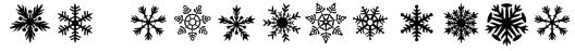 DH Snowflakes Font