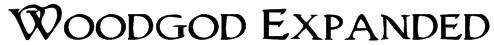 Woodgod Expanded Font