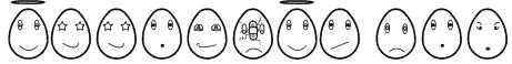 eggfaces tfb Font