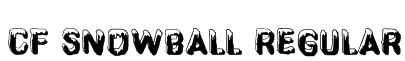 CF SnowBall Regular Font