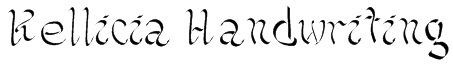 Kellicia Handwriting Font