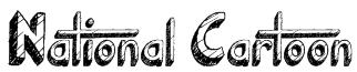 National Cartoon Font