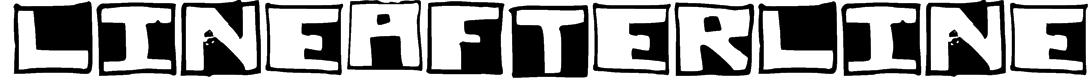 LineAfterLine Font