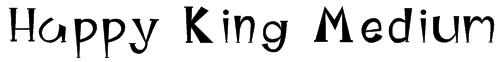 Happy King Medium Font