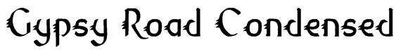 Gypsy Road Condensed Font