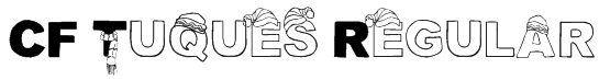 CF Tuques Regular Font