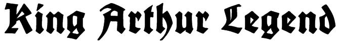 King Arthur Legend Font
