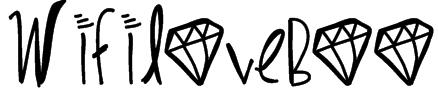 WifiLoveBoo Font