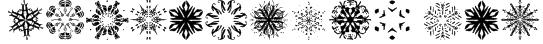 Snowflakes tfb Font