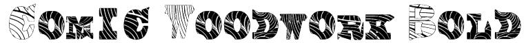 Comic Woodwork Bold Font