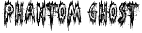 Phantom Ghost Font
