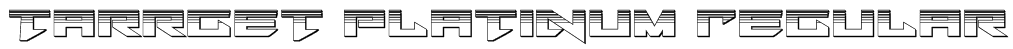 Tarrget Platinum Regular Font