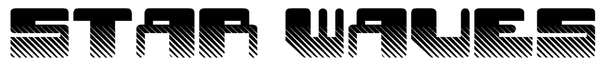 Star Waves Font