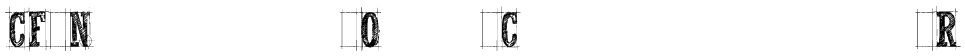 CF Nelson Old Caracters Regular Font