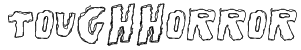 ToughHorror Font