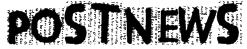 PostNews Font